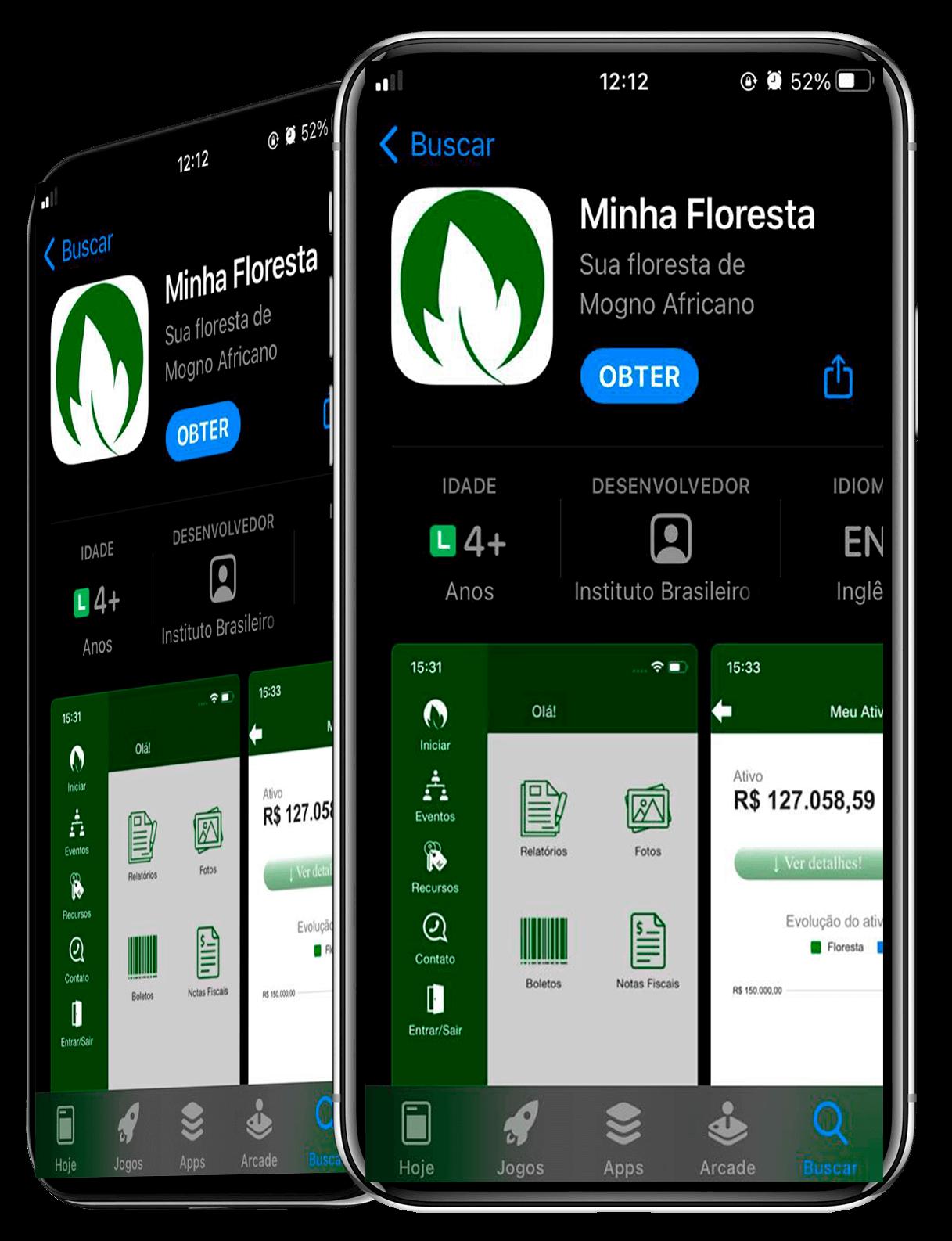 aplicativo minha floresta
